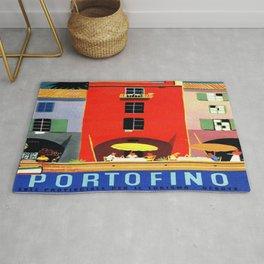 Vintage poster - Portofino Rug