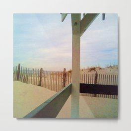 14th Street Pavilion, Seaside Beach New Jersey Metal Print