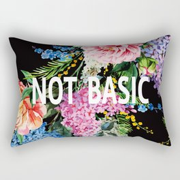 Not basic Rectangular Pillow