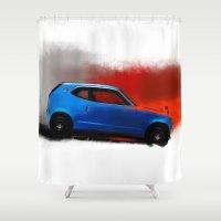 honda Shower Curtains featuring Honda Z by Vadim Artemyev