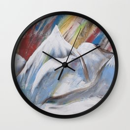 Proud Alps Wall Clock