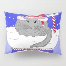 Chin-Chillin' Christmas Pillow Sham