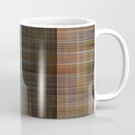 Patched plaid tiles pattern Coffee Mug
