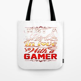 In love with a Gamer Tote Bag