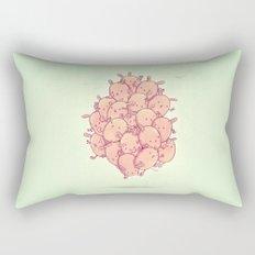 Cute bunnies Rectangular Pillow