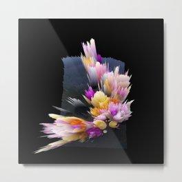 flowers 3d abstract digital painting Metal Print
