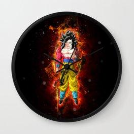 Goku SSJ4 Wall Clock