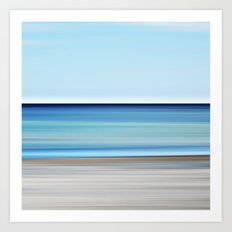 aqua - seascape no. 17 Art Print