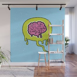Zombie Thoughts Wall Mural