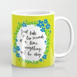 Ten Seconds - Lime Coffee Mug