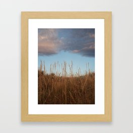Special morning moment Wyoming Framed Art Print