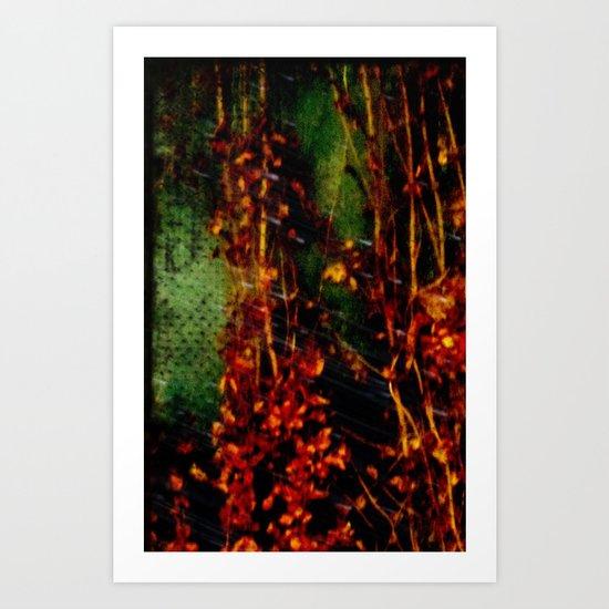 Electric Fall Art Print