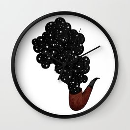 Space Pipe No.2 Wall Clock