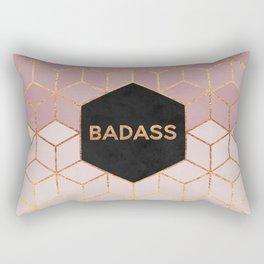 Badass Rectangular Pillow