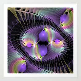 web of dreams Art Print