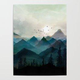 Mountain Sunrise II Poster