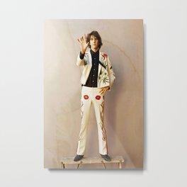 Gram Parsons Photo - Nudie Suit - Original Poster Stunning Pro Print Metal Print