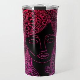 GREEK GODDESS in ROSE Travel Mug