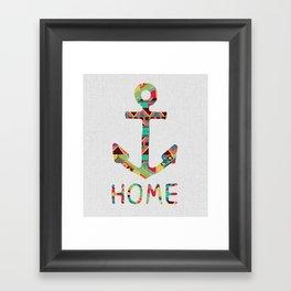 you make me home Framed Art Print