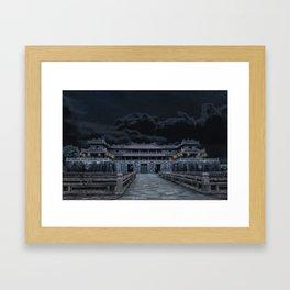 Hue Citadel Framed Art Print