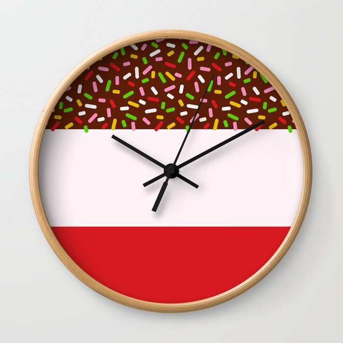 Fabulously Sprinkled Wall Clock