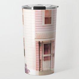 Twin Houses Travel Mug