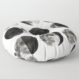 Moon Phases Floor Pillow