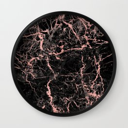 Marble Rose Gold - Someone Wall Clock