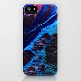 Cosmic Waves iPhone Case