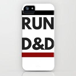 Run D&D iPhone Case