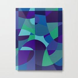 Sea Sangria Metal Print