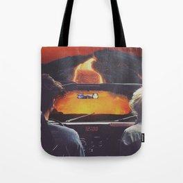 Death Drive Tote Bag