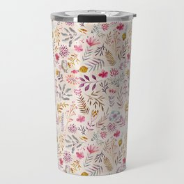 Light floral Travel Mug