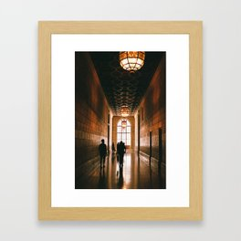 New York Public Library Framed Art Print