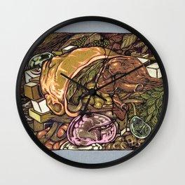 imaginations of mind Wall Clock