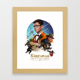 Kingsman - The Golden Circle Framed Art Print