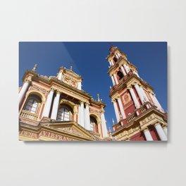 Salta Church Metal Print