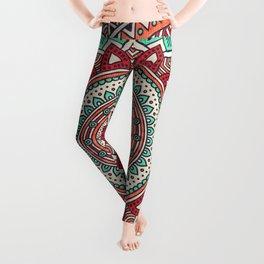Hippie mandala 1 Leggings