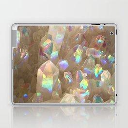 Unicorn Horn Aura Crystals Laptop & iPad Skin