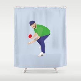 The Greek Shower Curtain