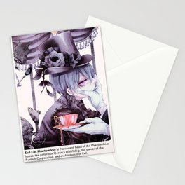 the queen's watchdog Stationery Cards