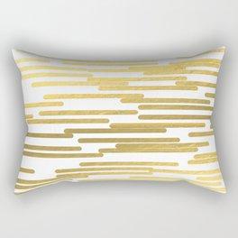 Gold Bars - trendy hipster gold foil shiny sparkle gilded gold bars money art print phone case  Rectangular Pillow