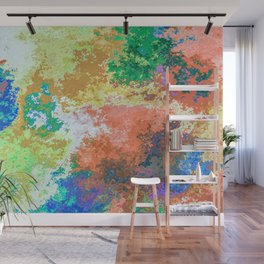 Colorful Patches Wall Mural