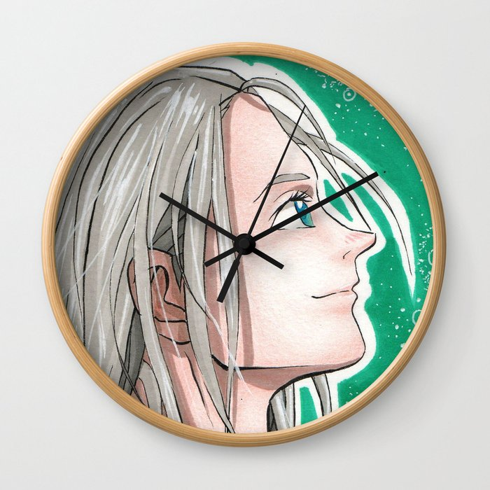 Young Victor Wall Clock
