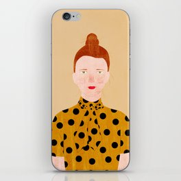 Miss Lily iPhone Skin