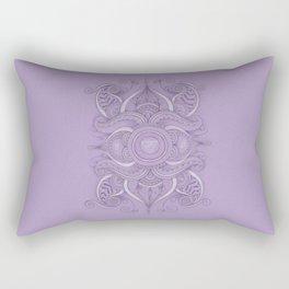 Mandala Ajna Chakra Rectangular Pillow
