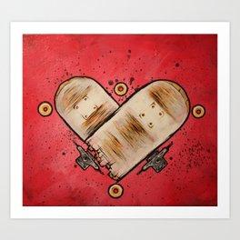 Stuntwood Love Art Print