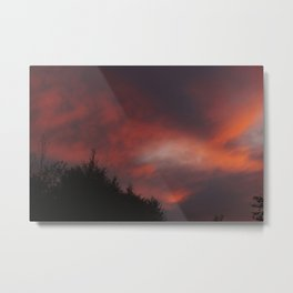 Stained Vapor Metal Print