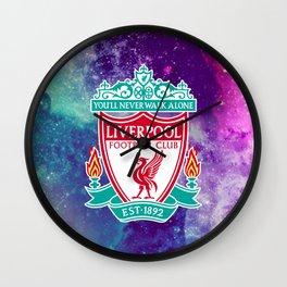 Liverpool FC Galaxy Wall Clock
