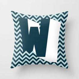W. Throw Pillow